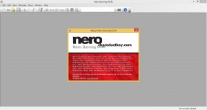 Nero Burning ROM Serial Key